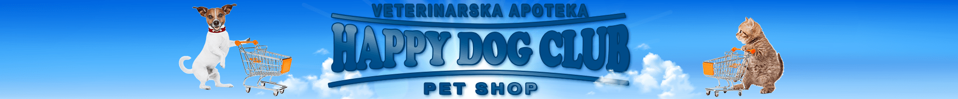 Logo Happy Dog Club Pet Shop