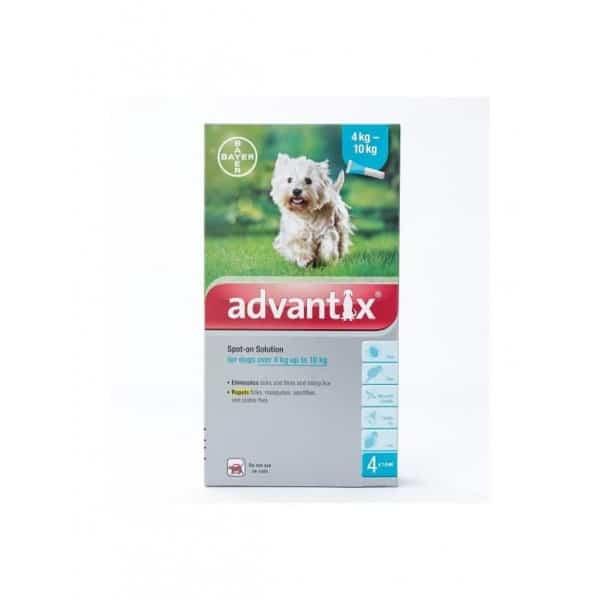 advantix za pse protiv krpelja od 4 do 10kg