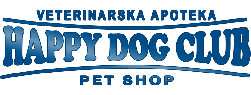 Happy Dog Club Veterinarska apoteka logo u futeru