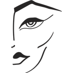 Face and body logo